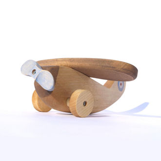 Picture of Wooden Toy Plane